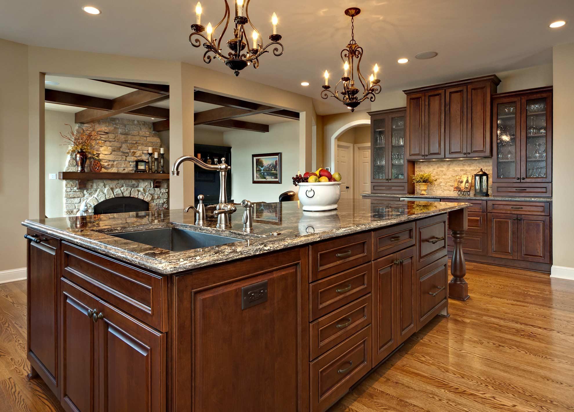Kitchen island designs white kitchen cabinets with for Creative kitchen island designs