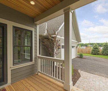 porch and garage photo