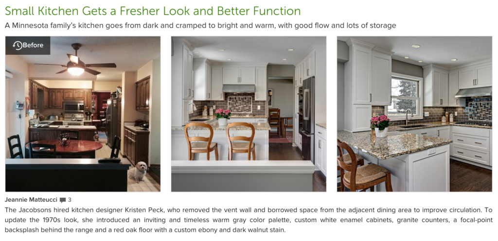 HOUZZ Article -Knight Construction
