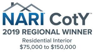 NARI 2019 Awards_Res Interior $75k-150k_Regional Winner_Color