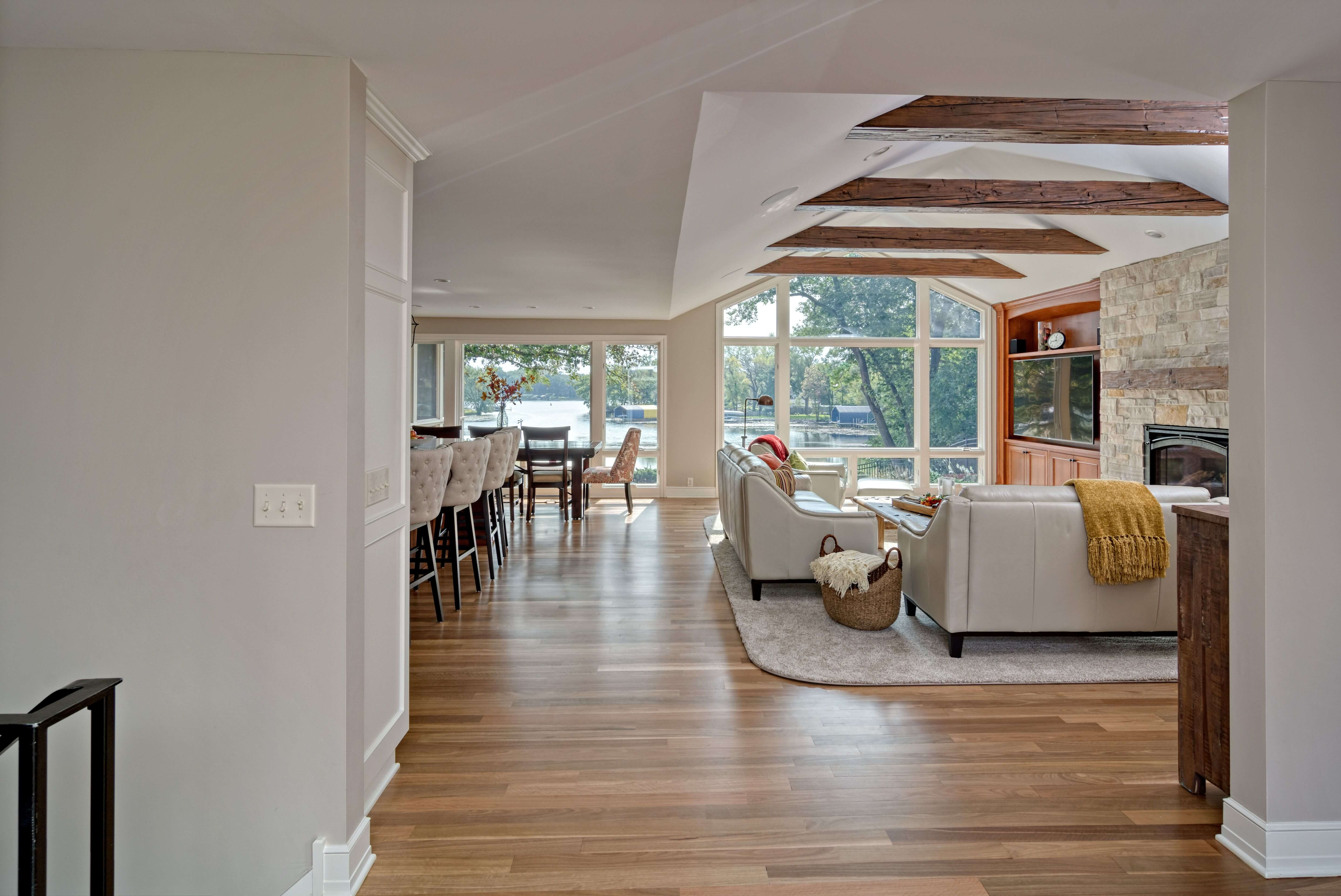 After Main Level Remodel in Minnetonka MN by Knight Construction