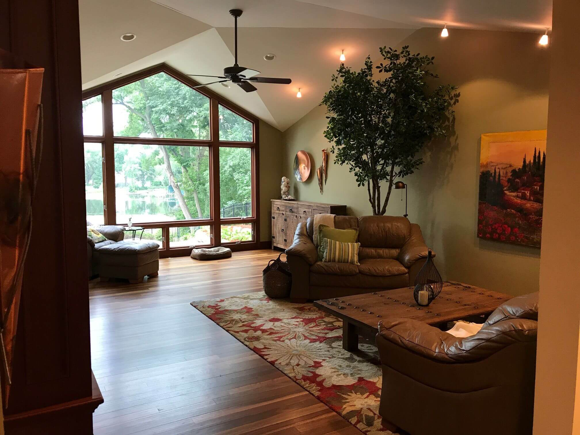 Before Main Level Remodel in Minnetonka MN by Knight Construction